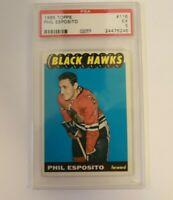 1965 Topps Phil Esposito #116 PSA 5