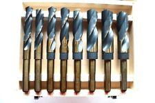 Bohrer Bohrersatz  Metallbohrer Spiralbohrer  Kobalt Cobalt HSS 5% Koffer 8 Tlg!