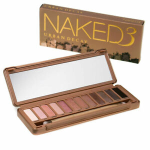 Urban Decay Naked 3 Eyeshadow Palette - Brand New RRP £40