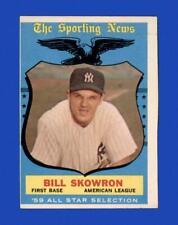 1959 Topps Set Break #554 Bill Skowron AS VG-VGEX *GMCARDS*