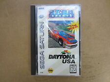 DAYTONA USA VIDEO GAME SEGA SATURN RARE ORIGINAL CASE