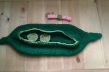 Foto di scena BABY CROCHET Peas in Pod Neonato Ragazzo Ragazza Unisex