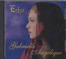 GABRIELLE ANGELIQUE Echo CD RARE OOP FEMME HARP NEW AGE
