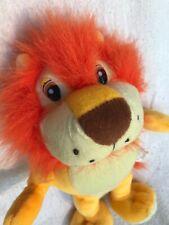 "VERY RARE Vintage Wondertreats Lion 10"" Plush Stuffed Animal Toy Good Condition"