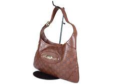 GUCCI Guccissima Leather Brown Shoulder Bag GS2162
