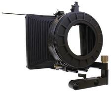 "Cavision 4x4"" Bellows Matte Box (3 Filter Stages) with Swing Away"