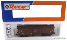 Roco 46954 H0 4 achsiger Güterwagen Schwenkdachwagen der DB mit OVP X00001-14034