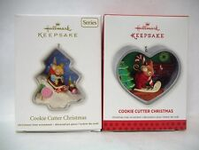 Hallmark Cookie Cutter Christmas 2012 1st & 2013 2nd Series Ornaments