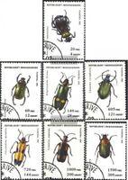 Madagaskar 1656-1662 (kompl.Ausg.) gestempelt 1994 Käfer