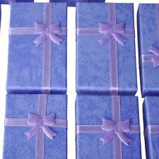 12x Purple Card Jewelry Gift for Pendant Bracelet Bangle Earring Wedding SP