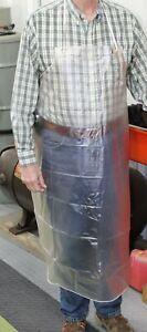 NEW HEAVY DUTY PVC CLEAR WORK SHOP APRON! DISHWASHERS, MACHINISTS, MECHANICS ETC