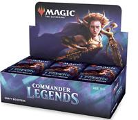 Commander Legends Draft Booster Box CMR 24 ct. NEW SEALED MTG SHIPS 11/20!