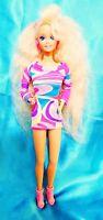 TOTALLY HAIR BARBIE Loose Doll Vintage 1991 Blonde Mattel