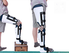Knee Ankle Foot Orthosis Support Lower Limbs Brace Adjustable Right Foot