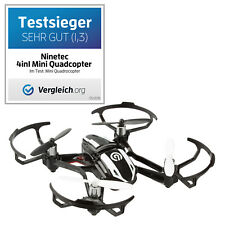 NINETEC Spyforce1 Mini 4in1 HD Video Kamera Drohne Quadrocopter Ufo 2GB Micro SD
