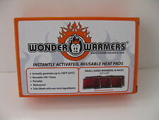 Wonder Warmer Six Pack Reusable Heat Pads Small Hand Warmers Waterproof pad