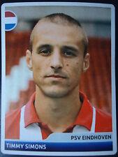 Panini 203 Timmy Simons PSV Eindhoven UEFA CL 2006/07