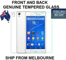 Front + Back Tempered GLASS Screen Protector For Sony Xperia Z2 Z3 COMPACT Z4 Z5