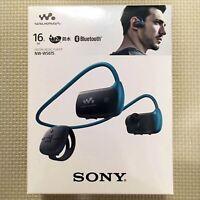 OFFICIAL SONY Headphone Integrated Walkman Waterproof 16GB NW-WS615 L Japan NEW