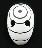 Naruto Resin Mask Tobi Obito Uchiha Cosplay Helmet Mask Roleplay Halloween Anime