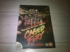Caged Fury Bernie Williams Taffy O'Connel Genuine UK R0 DVD VGC OOP