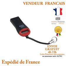 Lecteur de Carte Micro SD Mini Clef Adaptateur USB 2.0 clé USB vers carte SD
