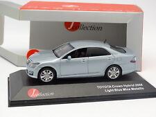 J Collection 1/43 - Toyota Crown Hybrid 2002 Ice Azul
