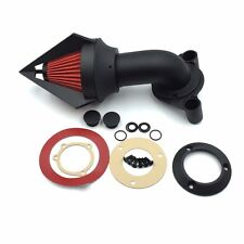 Matte Black Triangle Spike Air Cleaner Intake Kits Fit 1991-2006 Harley Xl Model
