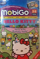 NEW VTECH MOBIGO HELLO KITTY BIRTHDAY PARTY! FOR MOBIGO & MOBIGO 2