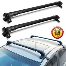 Lockable Roof Rack For 4 or 5 Door Cars Without Rail 43'' Top Luggage Carrier
