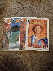 Indiana Jones And The Arms Of Gold #1-4: Dark Horse Comics: 1994: VF