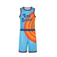 A New Legacy Basketball Space Jam Jersey Tune Squad #6 James Costume Uniform