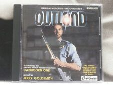 OUTLAND + CAPRICORN ONE - OST CD COME NUOVO LIKE NEW SOUNDTRACK JERRY GOLDSMITH
