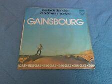 GAINSBOURG ( AUX ARMES ET CAETERA) 45 TOURS