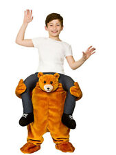 Kids Carry Me Teddy Mascot Bear Child Mascot Deluxe Novelty Fancy Dress Costume