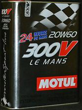 3x2=6 Liter Motul 300V Le Mans 20W60 EsterCore Racing 20W-60 RENNSPORT Motoröl