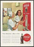 COCA-COLA - 1948 Vintage Print Ad