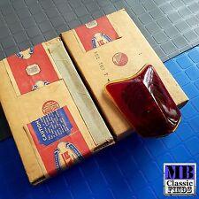 NOS 1939 39 Dodge PAIR tail light glass lenses OEM 691753 APT vintage Mopar