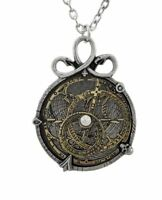 Alchemy Gothic Steampunk Anguistralobe Pewter Pendant Necklace Gift Jewellery