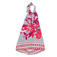 Decjuba Women's Size 10 100% Silk Halter neck Long Dress Lined