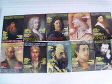 GRANDS PEINTRES : Lot de 42 magazines couleurs (non divisible) - Etat neuf -1988