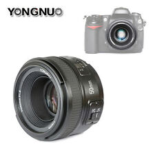 Yongnuo YN50mm f/1.8 Large Aperture MF AF Auto Focus Prime Lens For Nikon DSLR