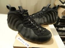 6a200bdecef 2012 NIKE AIR FOAMPOSITE ONE 1 STEALTH BLACK MEDIUM GREY 314996-010 SZ 11.5  RARE