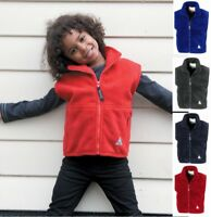 RESULT Kids / Youths Polartherm Fleece Bodywarmer Gilet Wasitcoat with Front Zip