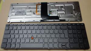 Tastatur HP Elitebook 8560W 8570W beleuchtet Backlight Keyboard Deutsch backlit