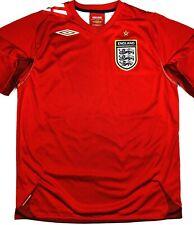 Umbro ENGLAND 2006/08 L Away Soccer Jersey Football Shirt Camiseta FA Trikot
