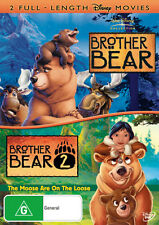 Brother Bear / Brother Bear 2 Moose On The Loose * NEW DVD *