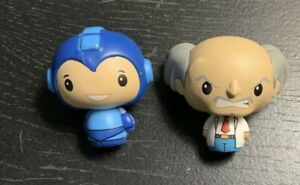 Funko MEGAMAN And Dr Wily Vinyl Mini Figure PINT SIZED HEROES