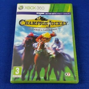 *xbox 360 CHAMPION JOCKEY G1 Jockey & Gallop Racer (NI) PAL UK EXCLUSIVE RELEASE