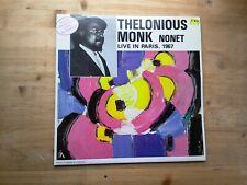 Thelonious Monk Nonet Live In Paris 1967 Excellent Vinyl Record FC 113